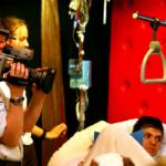 Camera aan het ziekbed