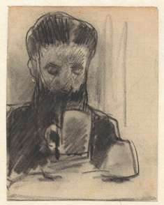 Man met bierpul Jac van Looij 1865-1930