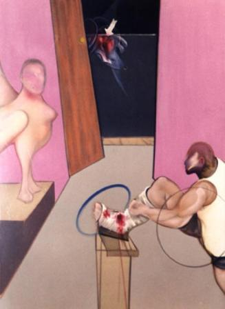 francis-bacon-Oedipus-and-the-Sphinx-after-Ingres 448