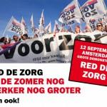 Red de Zorg demonstratie 12 september