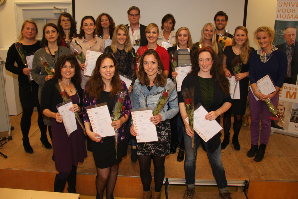 uitreiking premaster certificaten Zorgethiek en Beleid 2016