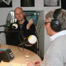 Carlo Leget in gesprek met Wilfred Kemp