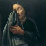Huilende vrouw Nussbaum